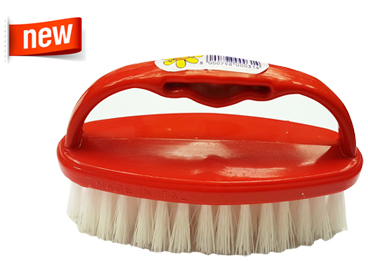 SCRUBBING BRUSHES OVAL WITH HANDLE