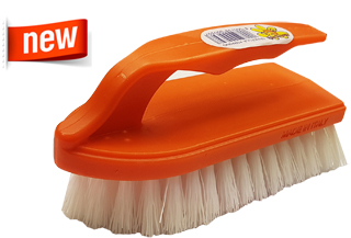 SCRUBBING BRUSHES IRON WITH HANDLE