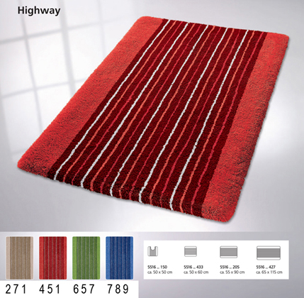 HIGHWAY Bath carpet