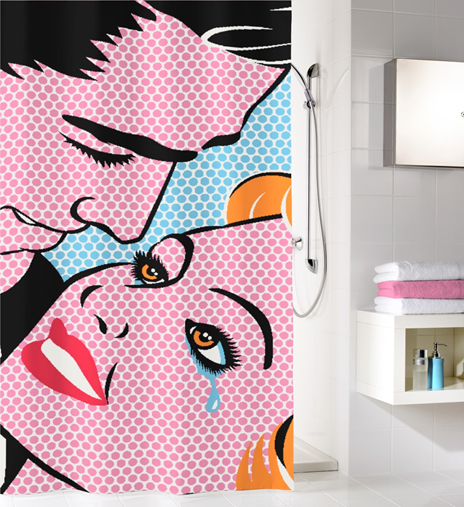 KISS - Shower Curtains