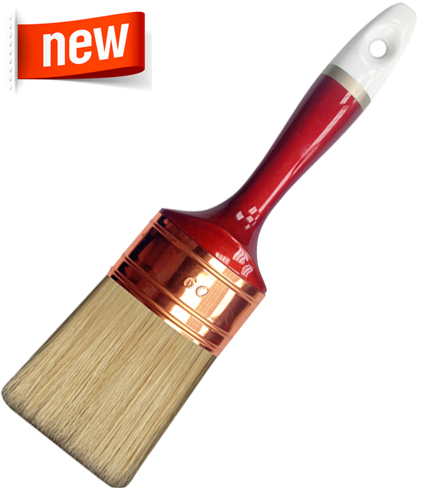 CHALK PAINT BRUSH - VABER OVAL White