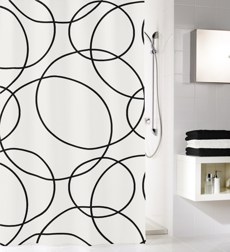 RINGS - Shower Curtains