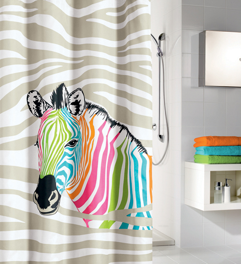 ZEBRA - Shower Curtains