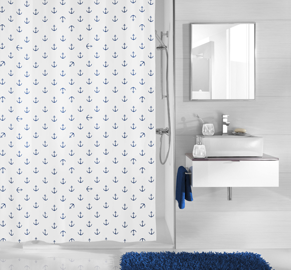 ANCHOR - Shower Curtains
