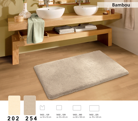 BAMBOU Bath carpet