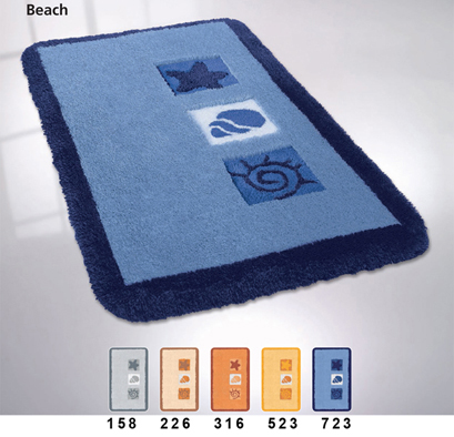 BEACH Bath carpet