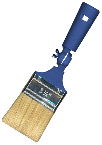ADJUSTABLE ANGLE BRUSHES PAINTAX Blue double boiled bristles